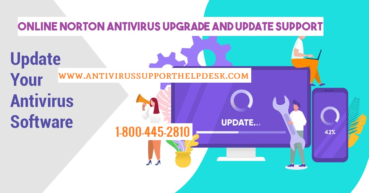 How to Norton Antivirus Upgrade and Update Support