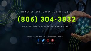Fix Norton 360 Live Update Mistake LU 1814
