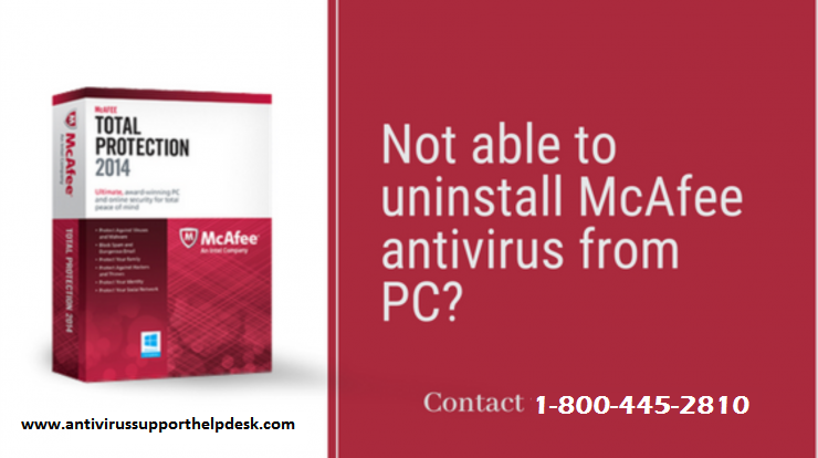 Uninstall McAfee Internet Security Forever from Windows 10