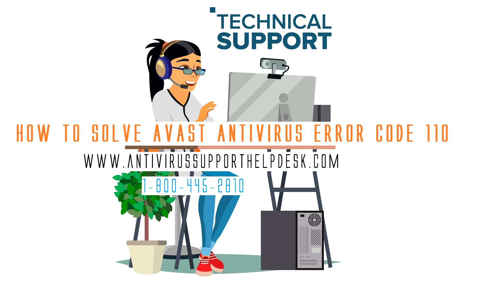 How to Solve AVAST Antivirus Error Code 110