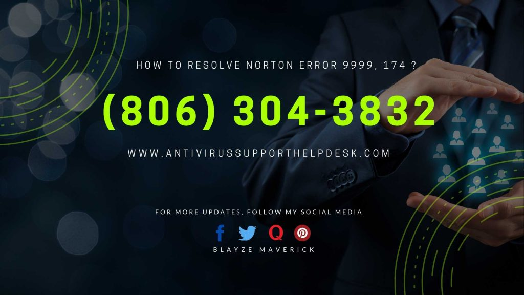 How to Resolve Norton Error 9999, 174