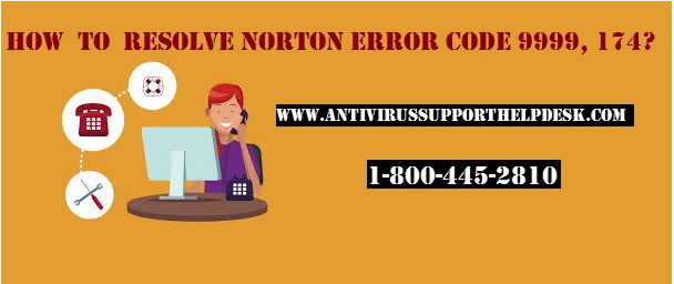 How to Resolve Norton Error 9999, 174 Error?