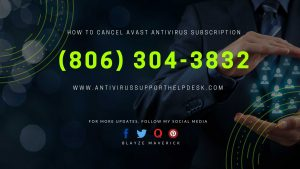 How to Cancel Avast Antivirus Subscription